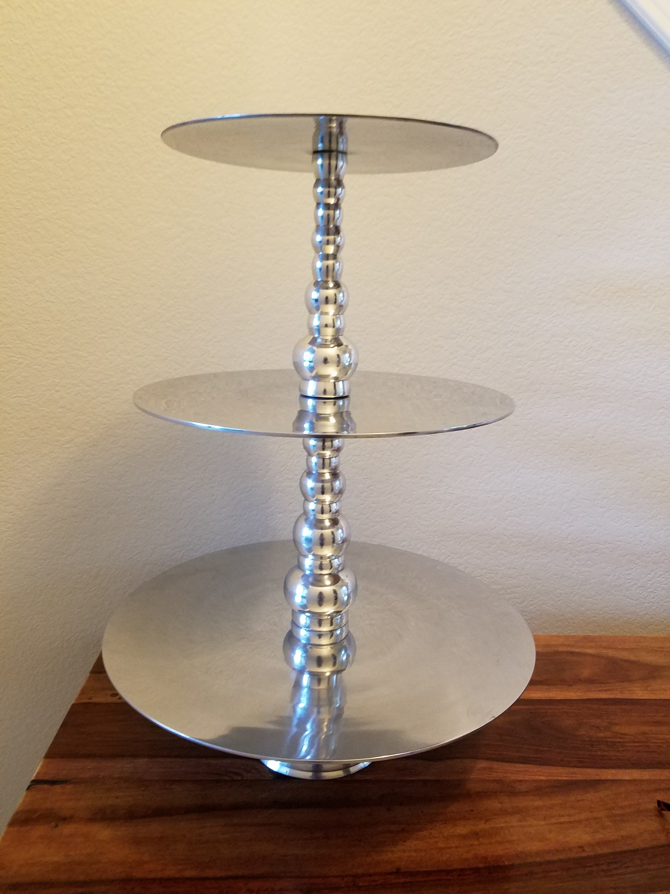 3-Tier Silver Stand